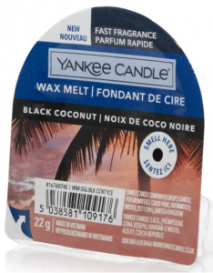 Yankee Candle - Wosk Black Coconut - 22g