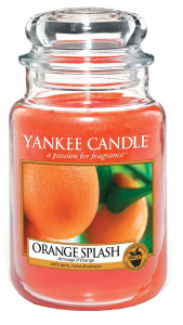 Yankee Candle - Duży słoik Orange Splash - 623g