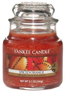 Yankee Candle – Mały słoik Spiced Orange – 104g