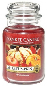 Yankee Candle - Duży słoik Apple Pumpkin - 623g