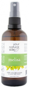 Your Natural Side - Woda kwiatowa Melisa - 100 ml