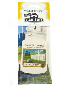 Yankee Candle - Car jar Clean Cotton - 1 szt.