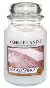 Yankee Candle - Duży słoik Angel's Wings - 623g