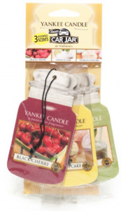 Yankee Candle - Car jar variety pack Afternoon Picnic - 3 szt.