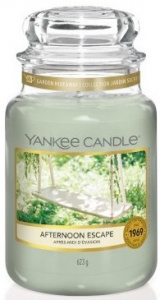 Yankee Candle - Duży słoik Afternoon Escape - 623g