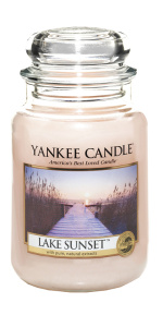 Yankee Candle - Duży słoik Lake Sunset - 623g