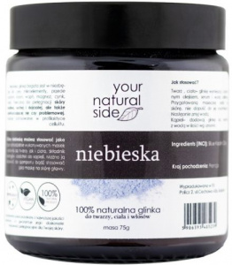 Your Natural Side - Glinka Niebieska Kaolin  - 75g