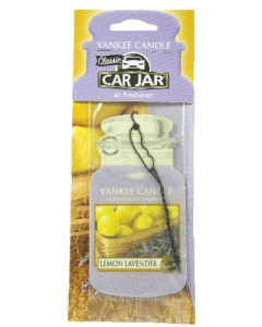 Yankee Candle - Car jar Lemon Lavender - 1 szt.