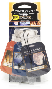 Yankee Candle - Car jar variety pack Cruise Night - 3 szt.