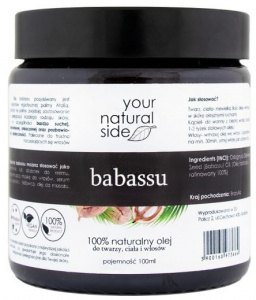 Your Natural Side - Olej Babassu- 100 ml