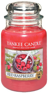 Yankee Candle - Duży słoik Red Raspberry - 623g