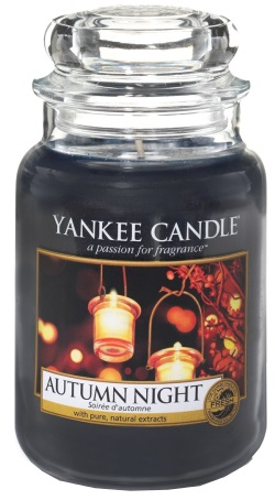 Yankee Candle - Duży słoik Autumn Night - 623g
