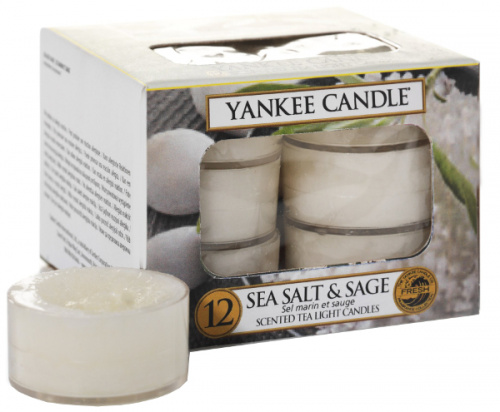 Yankee Candle - Tealight Sea Salt & Sage