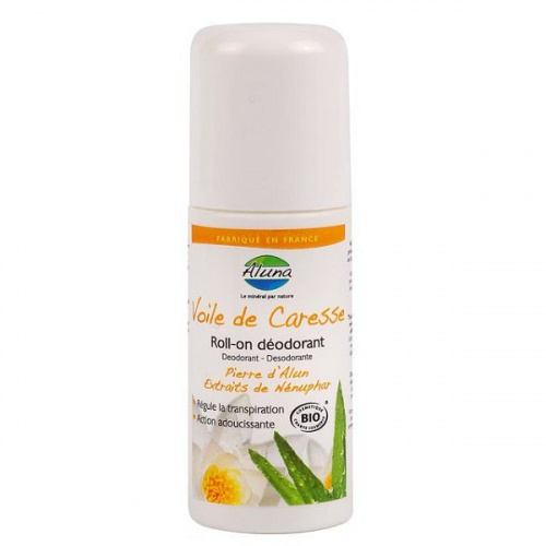 Aluna – Dezodorant Ałunowy Roll-on Lilia Bio – 50 ml